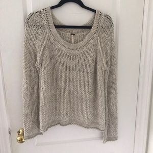 Free People sweater!!